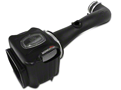 AFE Momentum GT Pro Dry S Cold Air Intake - Black (09-13 4.8L Sierra 1500 w/ Electric Cooling Fan)