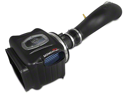 AFE Momentum GT Pro 5R Cold Air Intake - Black (07-08 4.8L Sierra 1500 w/ Electric Cooling Fan)