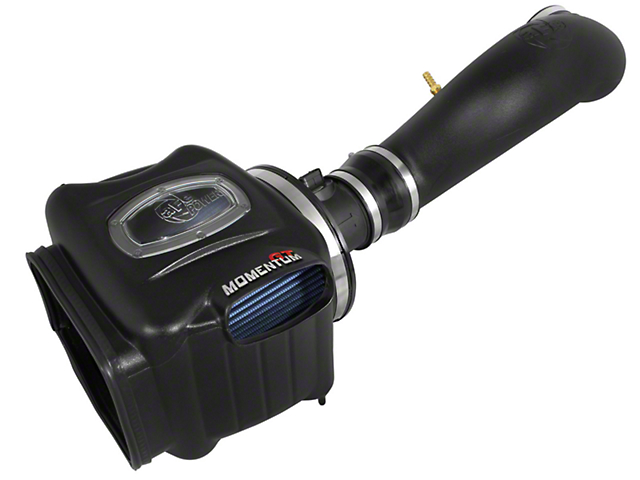 AFE Momentum GT Pro 5R Cold Air Intake - Black (07-08 5.3L Sierra 1500 w/ Electric Cooling Fan)