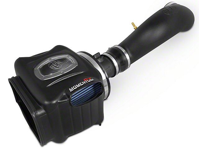 AFE Momentum GT Pro 5R Cold Air Intake - Black (07-08 4.8L, 5.3L, 6.0L, 6.2L Sierra 1500 w/ Electric Fan)