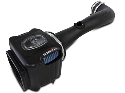 AFE Momentum GT Pro 5R Cold Air Intake - Black (09-13 4.8L Sierra 1500 w/ Electric Cooling Fan)