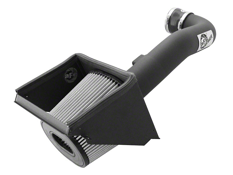 AFE Magnum FORCE Stage 2 Pro DRY S Cold Air Intake - Black (14-18 6.2L Sierra 1500)