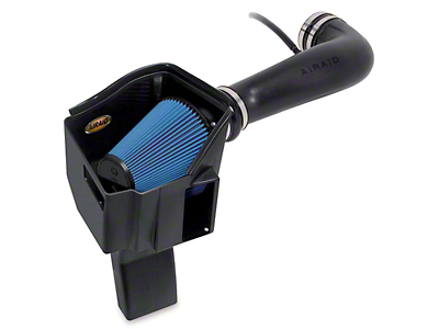 Airaid MXP Series Cold Air Intake w/ Blue SynthaMax Dry Filter (07-08 4.8L Sierra 1500 w/ Electric Cooling Fan)