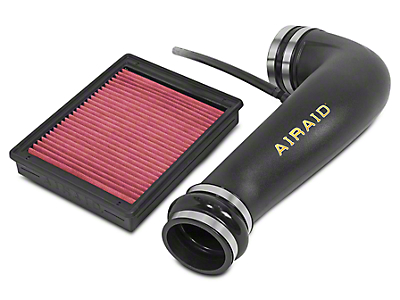 Airaid Jr. Intake Tube Kit w/ Red SynthaMax Dry Filter (07-13 4.8L Sierra 1500 w/ Electric Cooling Fan)
