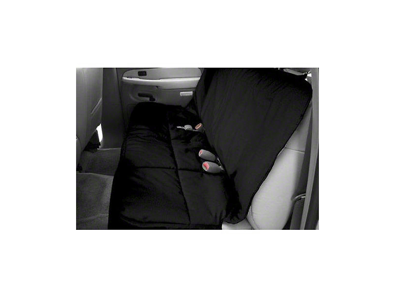 Covercraft Canine Covers Semi-Custom Rear Seat Protector - Black (07-18 Sierra 1500 Extended/Double Cab, Crew Cab)