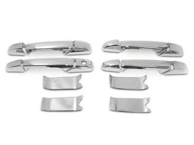 Chrome Door Handle Covers (07-13 Sierra 1500 Crew Cab)