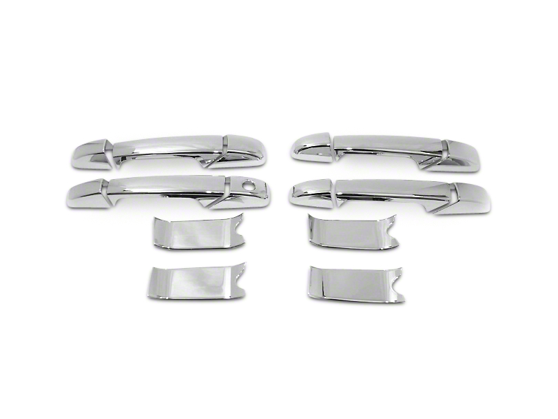 Door Handle Covers; Chrome (07-13 Sierra 1500)