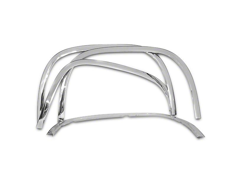 Stainless Steel Fender Trim - Chrome (07-13 Sierra 1500)