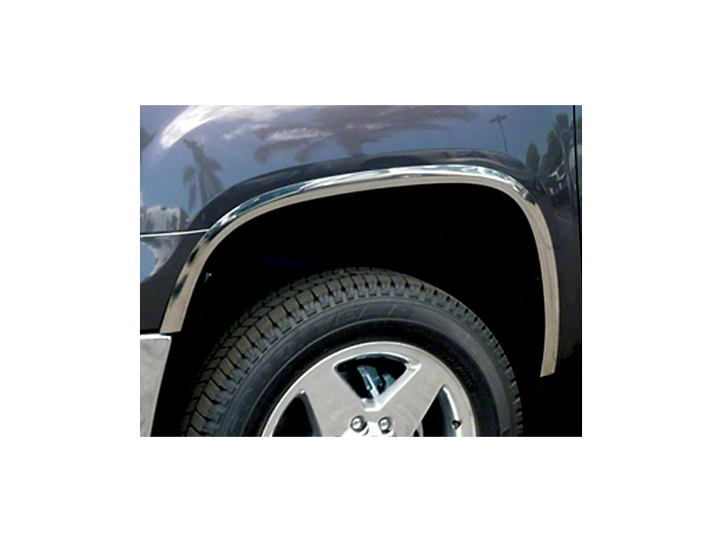 Stainless Steel Fender Trim - Polished (07-13 Sierra 1500)