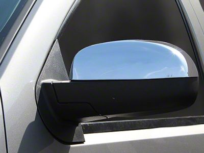 Chrome Mirror Covers (07-13 Sierra 1500 w/o Tow Mirrors)