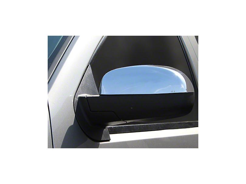 Chrome Mirror Covers (07-13 Sierra 1500 w/o Tow Mirrors)