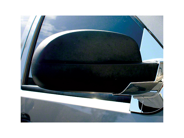 Chrome Mirror Base Covers (07-13 Sierra 1500 w/o Tow Mirrors)