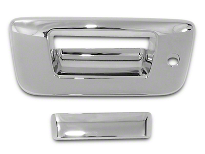 Chrome Tailgate Handle Covers (07-13 Sierra 1500)