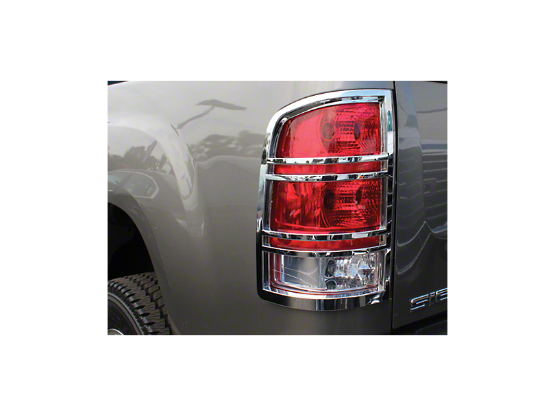 Chrome Tail Light Covers (07-13 Sierra 1500)