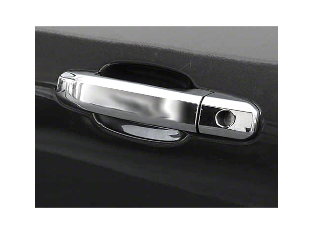 Door Handle Covers; Chrome (14-18 Sierra 1500)