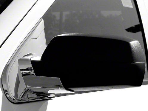 Chrome Mirror Base Covers (14-18 Sierra 1500 w/o Two Mirrors)
