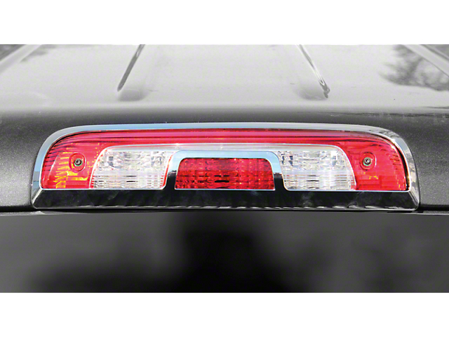 Third Brake Light Cover; Chrome (14-18 Sierra 1500)