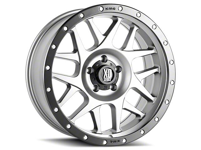 XD Bully Matte Gray w/ Black Ring 6-Lug Wheel - 17x9 (07-18 Sierra 1500)