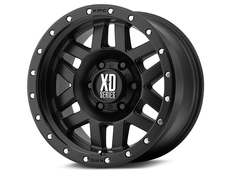 XD Machete Satin Black 6-Lug Wheel - 20x10 (07-19 Sierra 1500)