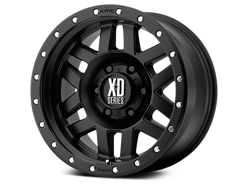 XD Machete Satin Black 6-Lug Wheel - 20x9 (07-18 Sierra 1500)