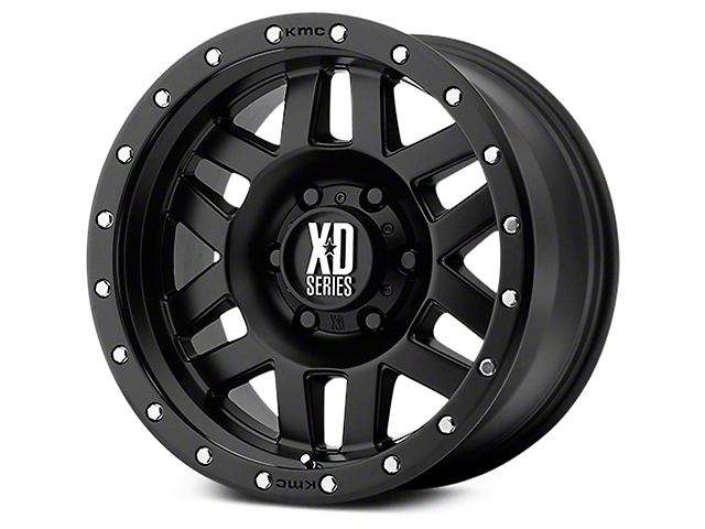 XD Machete Satin Black 6-Lug Wheel - 17x9 (07-19 Sierra 1500)