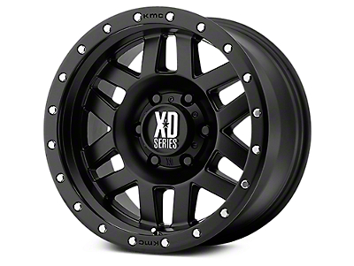 XD Machete Satin Black 6-Lug Wheel - 17x9 (07-18 Sierra 1500)