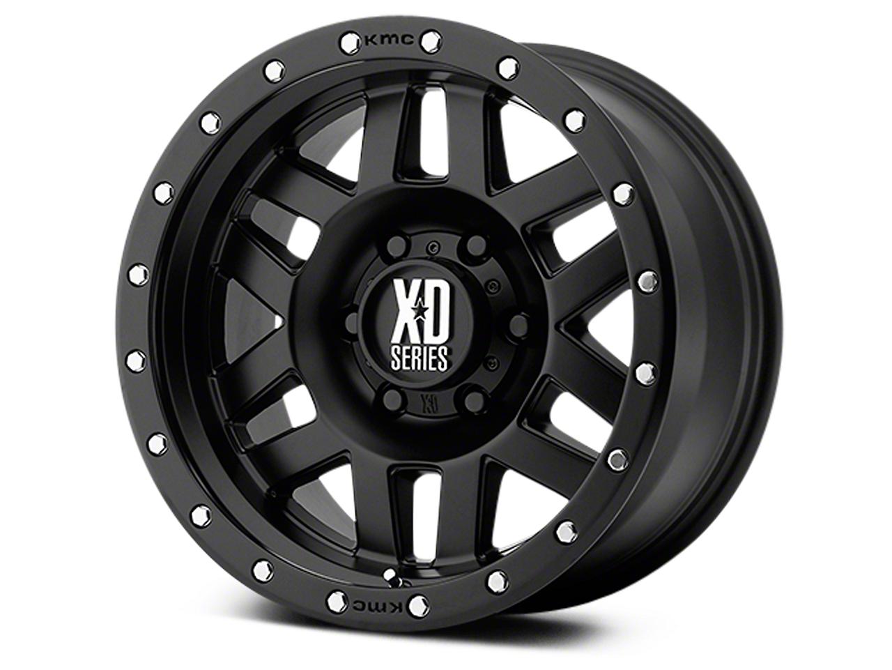 XD Machete Satin Black 6-Lug Wheel - 18x9 (07-18 Sierra 1500)