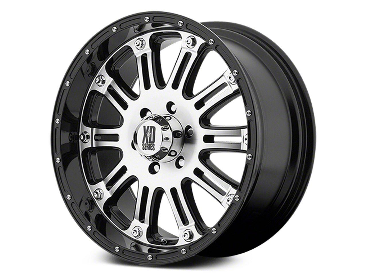 xd silverado hoss chrome 6 lug wheel 20x9 s100604 99 19 silverado 2003 GMC Envoy xd