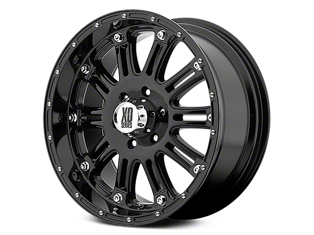 XD Hoss Gloss Black 6-Lug Wheel - 20x9 (07-18 Sierra 1500)