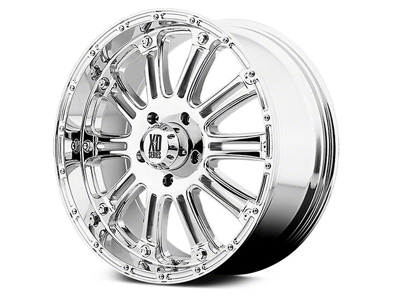 XD Hoss Chrome 6-Lug Wheel - 17x9 (07-19 Sierra 1500)