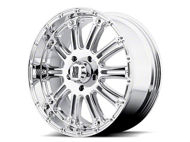 XD Hoss Chrome 6-Lug Wheel; 18x9; -12mm Offset (14-18 Sierra 1500)