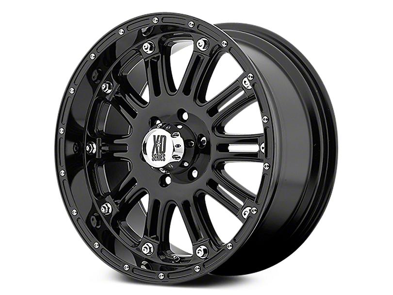 XD Hoss Gloss Black 6-Lug Wheel - 18x9 (07-19 Sierra 1500)