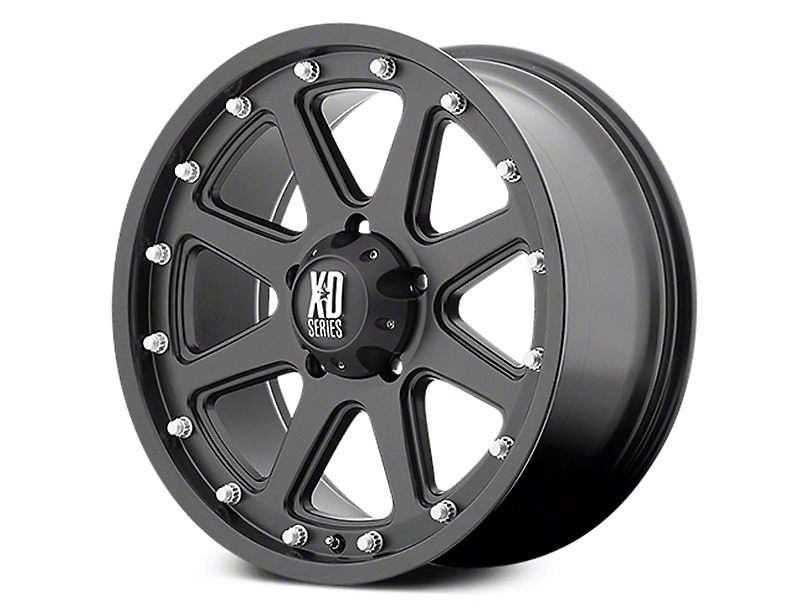 XD Addict Matte Black 6-Lug Wheel - 20x9 (07-18 Sierra 1500)