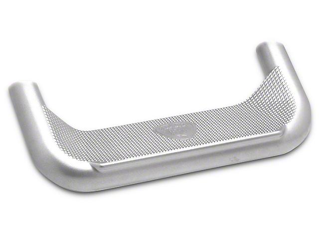 Carr Super Hoop Side Steps; Titanium Silver (99-18 Sierra 1500)