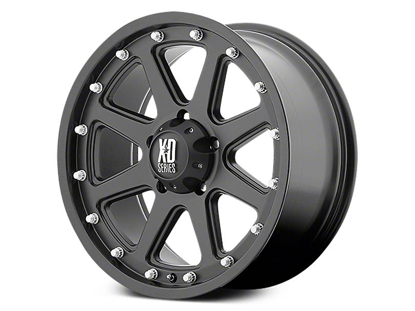 XD Addict Matte Black 6-Lug Wheel - 18x9 (07-19 Sierra 1500)