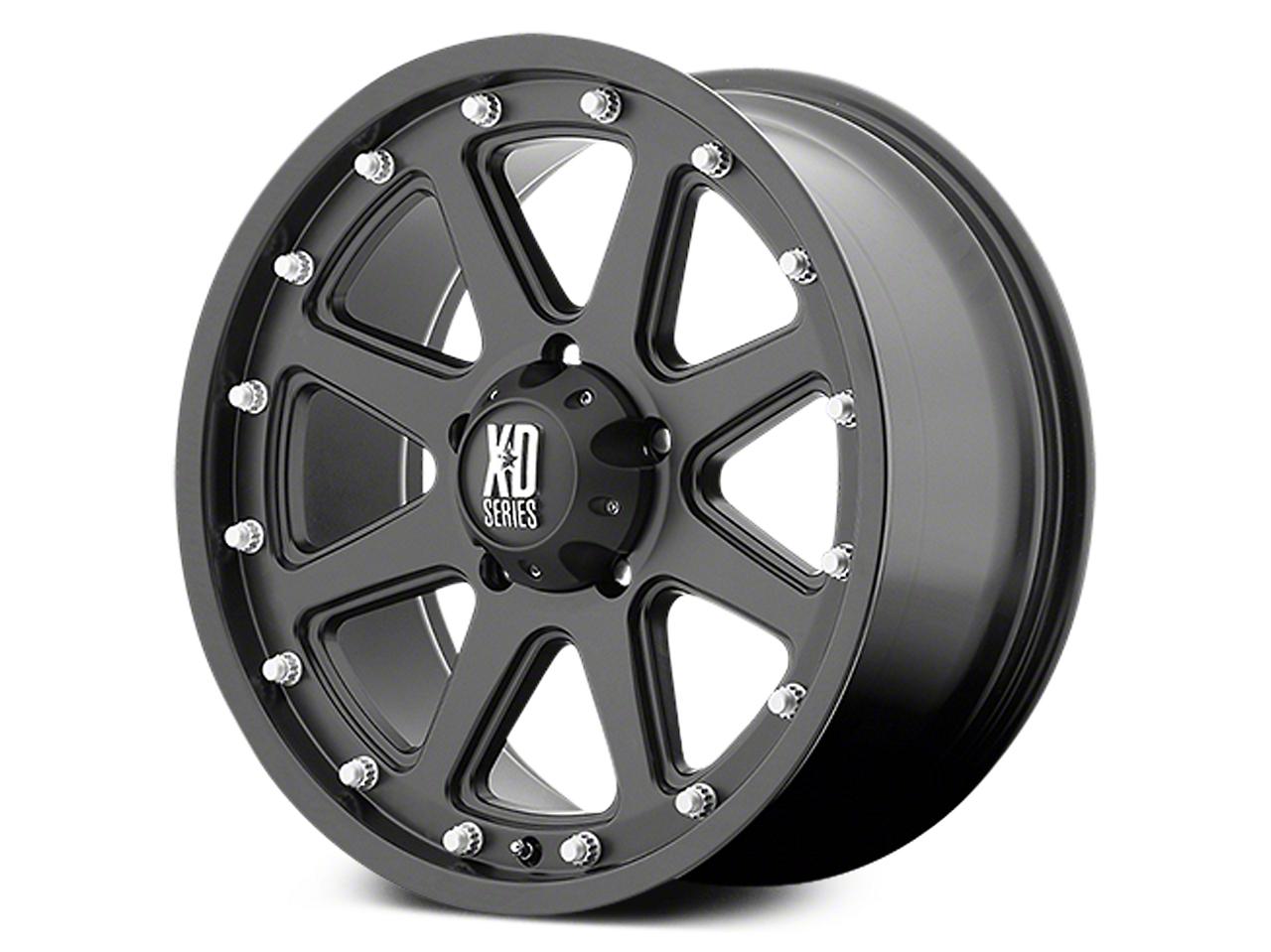XD Addict Matte Black 6-Lug Wheel - 18x9 (07-18 Sierra 1500)