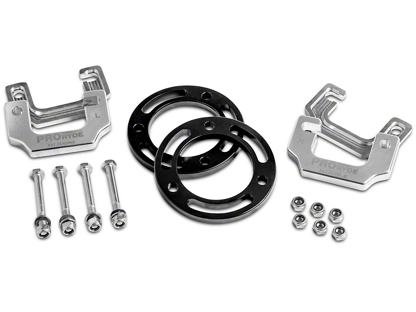 ProRYDE 0.75 in. to 2.5 in. Adjustable Front Leveling Kit (14-18 2WD/4WD Sierra 1500)