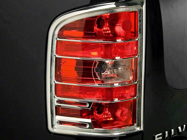 Putco Chrome Tail Light Covers (07-13 Sierra 1500)