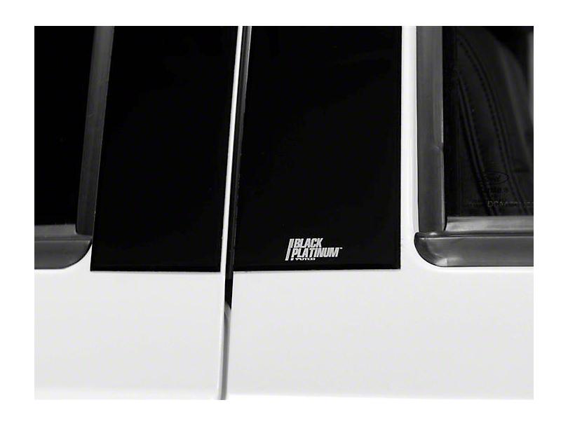 Putco Black Platinum Pillar Posts (14-18 Sierra 1500 Double Cab, Crew Cab)