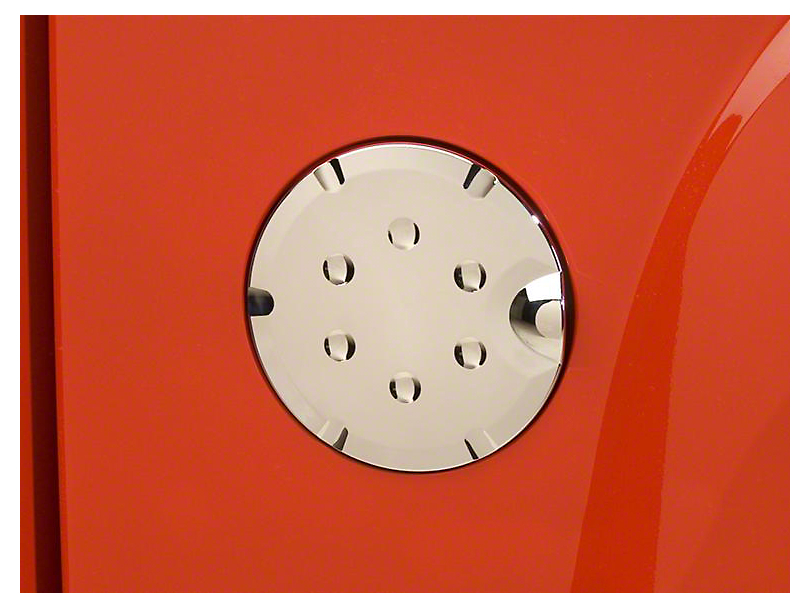 Putco Fuel Tank Door Cover - Chrome (07-13 Sierra 1500)