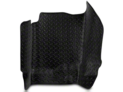 Husky Classic Center Hump Floor Liner - Black (07-13 Sierra 1500 Regular Cab)