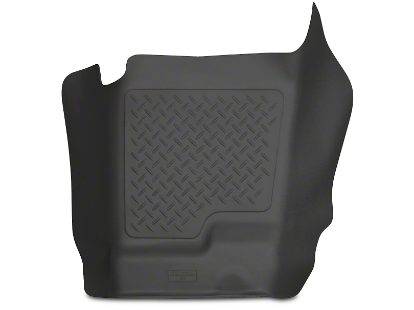 Husky WeatherBeater Center Hump Floor Liner - Black (07-13 Sierra 1500 Extended Cab, Crew Cab)