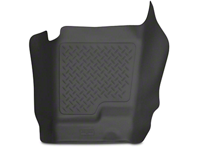 Husky WeatherBeater Center Hump Floor Mat - Black (07-13 Sierra 1500 Extended Cab, Crew Cab)