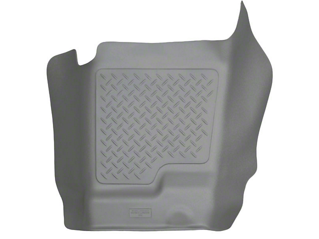 Husky WeatherBeater Center Hump Floor Liner; Gray (07-13 Sierra 1500 Extended Cab, Crew Cab)