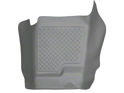 Husky WeatherBeater Center Hump Floor Mat - Gray (07-13 Sierra 1500 Extended Cab, Crew Cab)