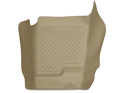 Husky WeatherBeater Center Hump Floor Liner - Tan (07-13 Sierra 1500 Extended Cab, Crew Cab)