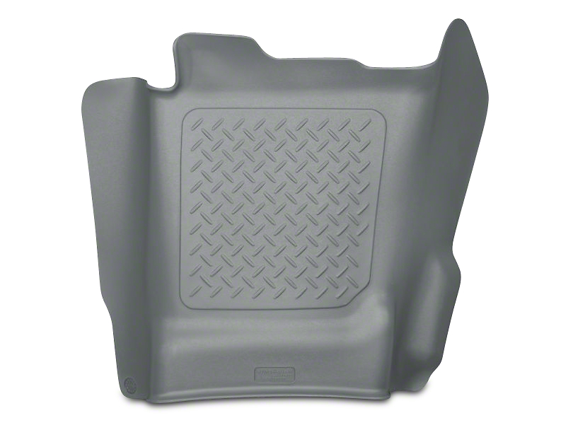 Husky WeatherBeater Center Hump Floor Liner - Gray (14-18 Sierra 1500 Double Cab, Crew Cab)