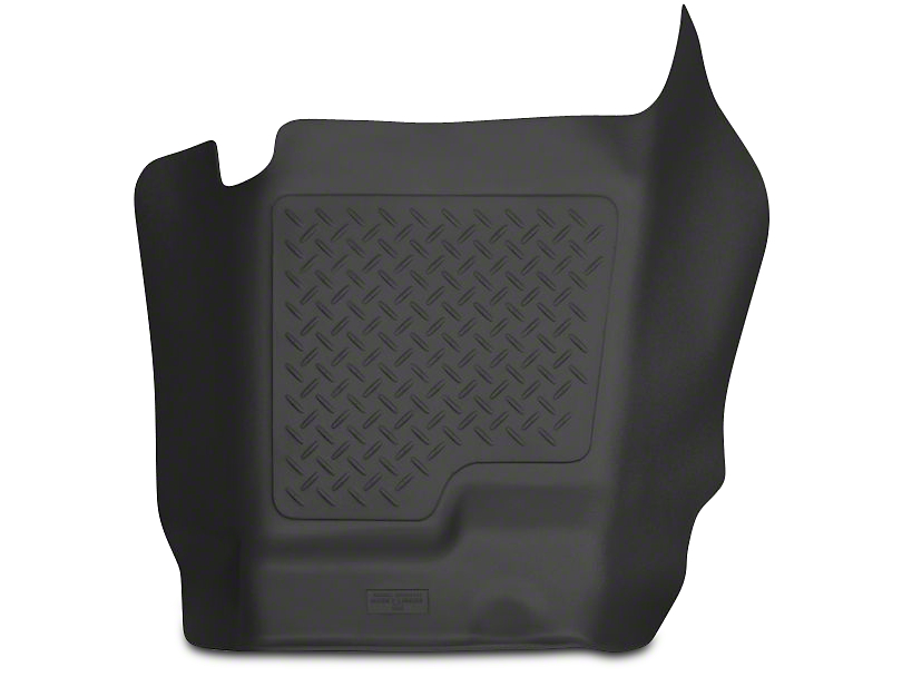 Husky X-Act Contour Center Hump Floor Liner - Black (07-13 Sierra 1500 Extended Cab, Crew Cab)