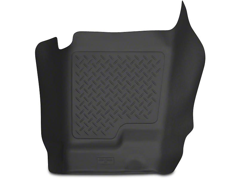 Husky X-Act Contour Center Hump Floor Liner - Black (07-13 Sierra 1500 Extended Cab, Crew Cab)
