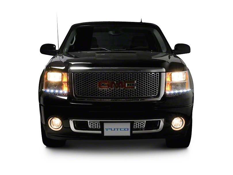 Putco LED Dayliner G2 Kit - Chrome (07-13 Sierra 1500)